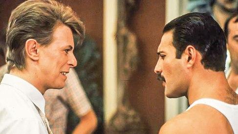 Bowie y Mercury